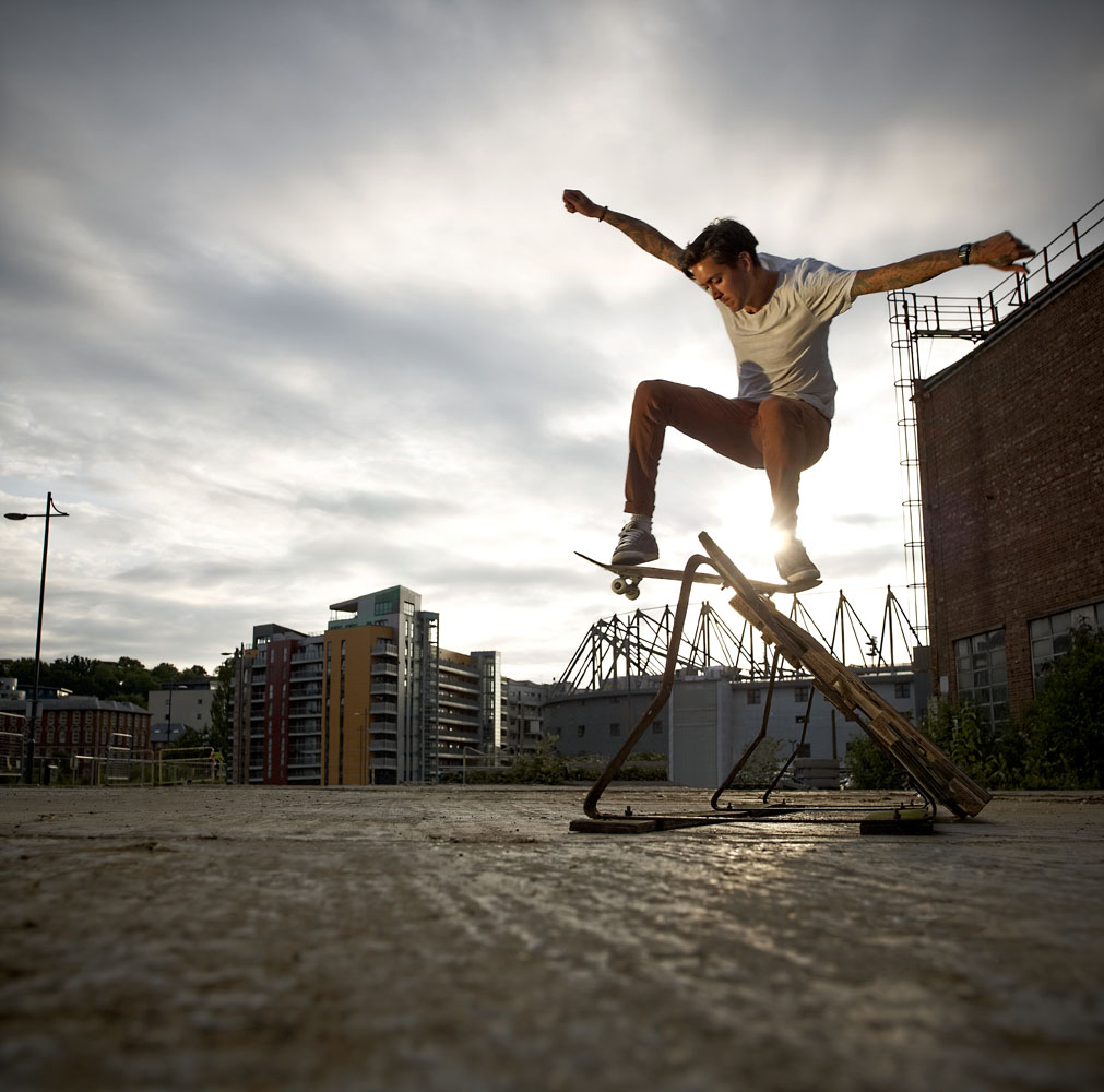 Urban Skateboarder
