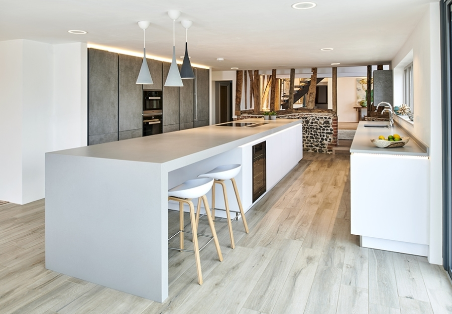 Example of interior photography - a designer kitchen.