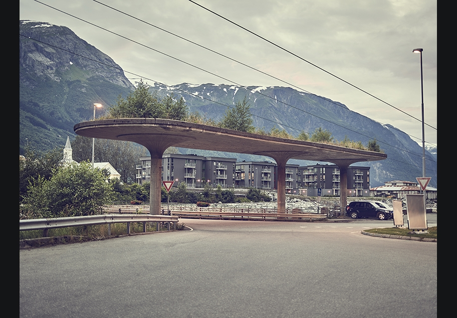 Sustainable Norwegian Roundabout