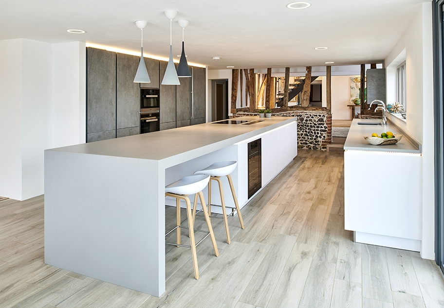 Kitchen Interior in Barn Conversion