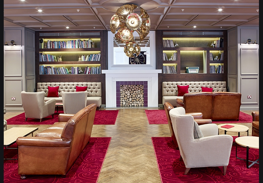 Virgin Money Lounge Interior