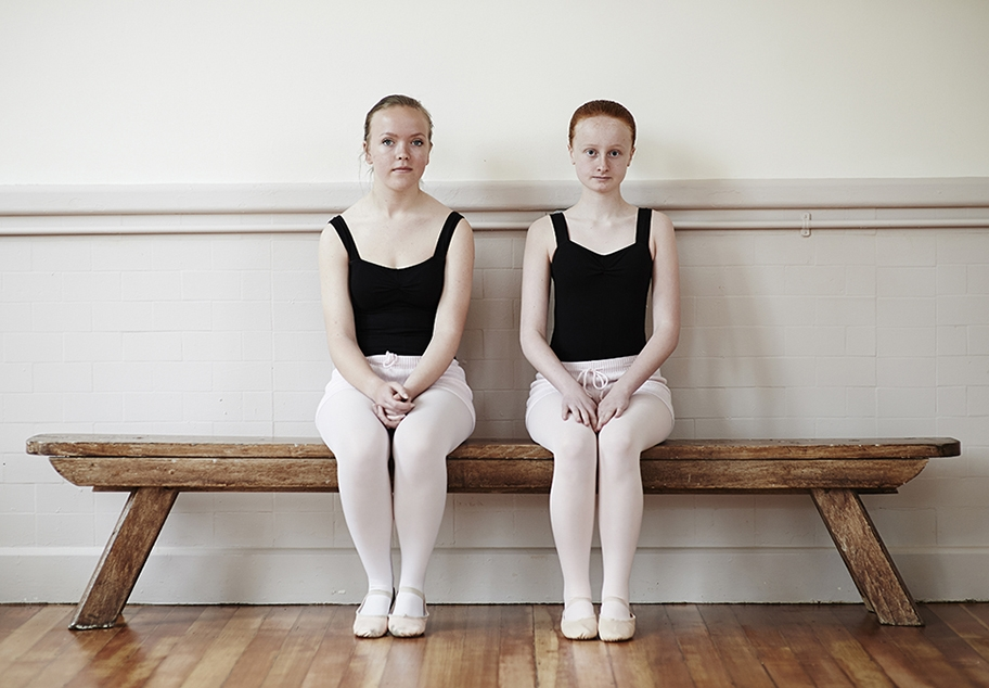 Portrait of young ballerinas